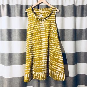 Versatile mustard yellow tunic/dress